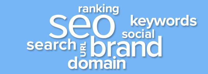 seo brand naming graphic