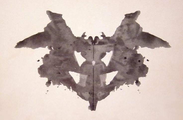 Rorshach test ink blot